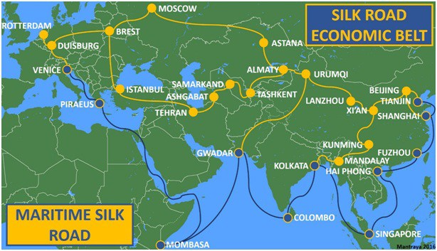 One Belt and Road Initiative (OBR)